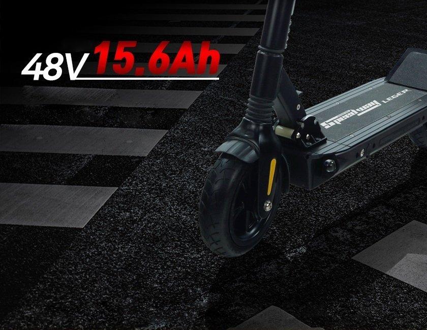 scooter electrico con mayor autonomia y precio calidad