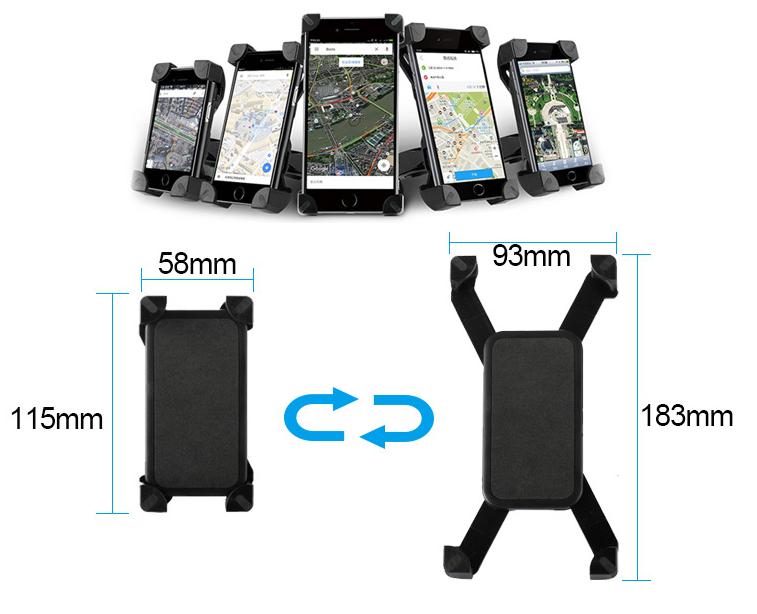 soporte de celular para moto